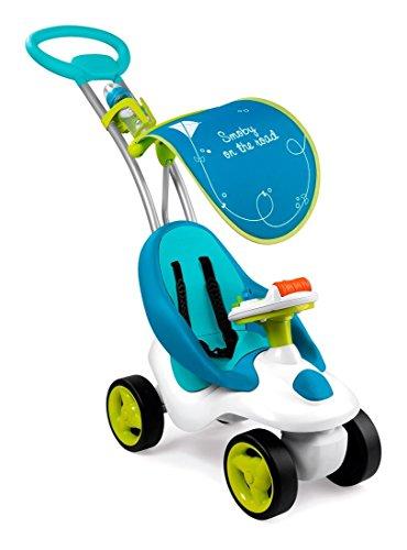 Smoby - Correpasillos Bubble Go para niño, Color Azul (413000)