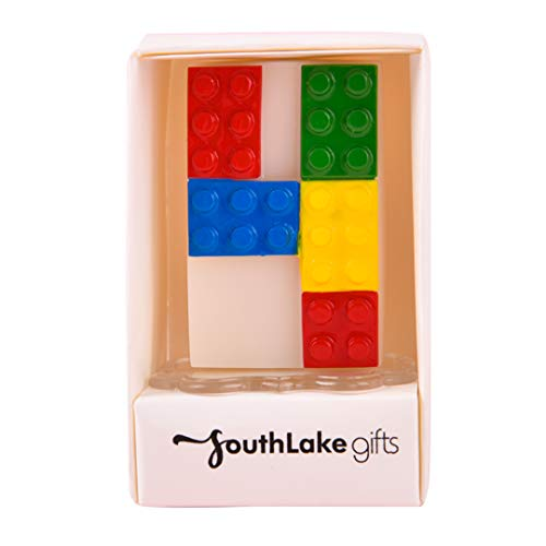 Colorful Interesting Building Block Candle Number Candle for Birthday (4)