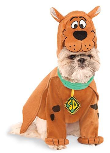 Disfraz Oficial de Scooby Doo para Perro Caminando para Mascotas, Disfraz de Halloween, Talla Grande