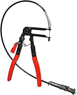 Drake Off Road Long Reach Hose Clamp Pliers with Flexible Wire Shaft Fuel Oil Water Hose Tool