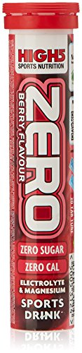 High5 Zero Berry Flavoured Sports Drink Tablets - Red, 14 cm
