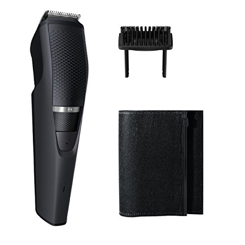 Philips Norelco Beard & Stubble Trimmer Series 3000, BT320/4, Black