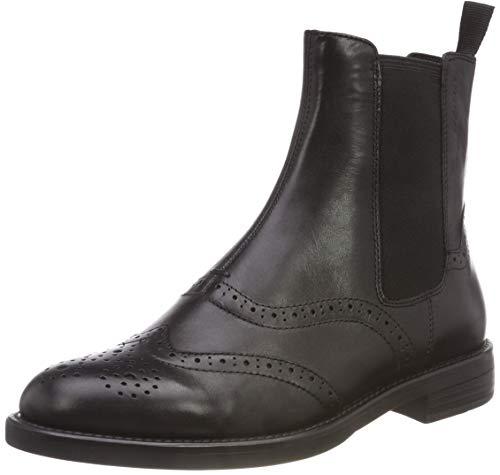 Vagabond Damen Amina Chelsea Boots, Schwarz Black, 38