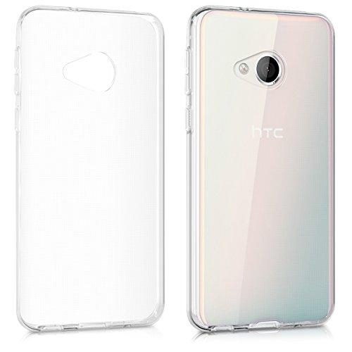 kwmobile Hülle kompatibel mit HTC U Play - Hülle Handy - Handyhülle in Transparent