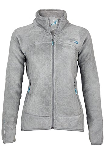 Geographical Norway Dames UNIFLORE LADY ASSORT B jas, grijs (lichtgrijs), Small (fabrieksmaat: 1)