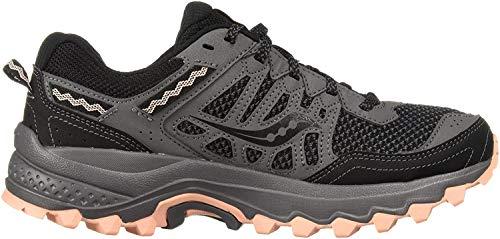 Saucony Women's Excursion TR12 Sneaker, Grey/Peach, 9.5 M US
