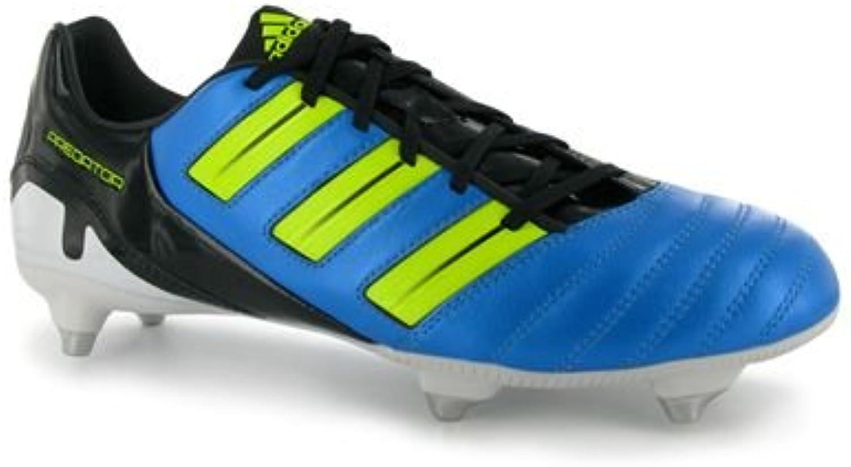 Adidas - Xavier Xavi Hernandez - Men's Football Boots shoes - Predator Absolion TRX SG - bluee