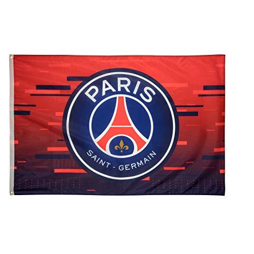 PARIS SAINT GERMAIN Flagge PSG Offizielle Kollektion - Größe 150 x 100 cm