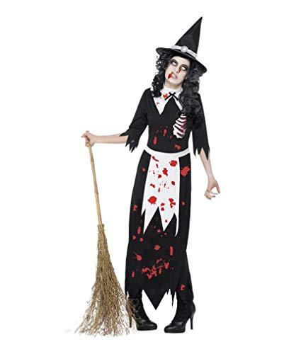 Horror-Shop Zombie Costume Sorcière M