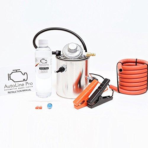 AutoLine Pro EVAP Vacuum Automotive Smoke Machine Leak Detector Diagnostic Tester Compact SMK-1