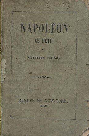 Napoléon le petit. Mention de couverture