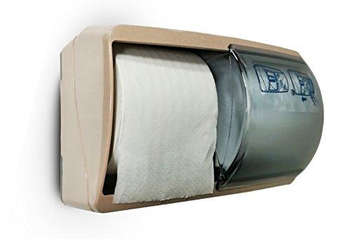 Italy 4030/DL-DR toiletpapierdispenser, dubbele rollen, roze