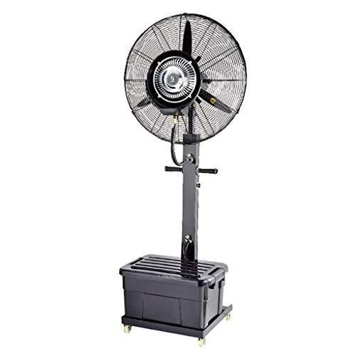 Staande ventilator met staande ventilator, luchtbevochtiger, geluidsarme torenventilator, verticaal, draaibare ventilator.