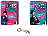 Lot 2 Extensions Jokes de Papa : Extension Sucrée + Extension Salée + 1 Décapsuleur Blumie