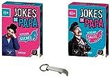 Lot 2 Extensions Jokes de Papa : Extension Sucrée + Extension Salée + 1 Décapsuleur Blumie