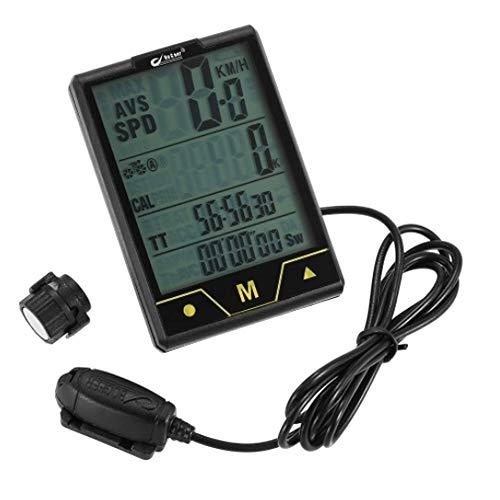 Cuentakilómetros para Bicicleta Moto inalámbrica del ordenador / conexión de cable de...