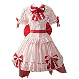 Full Sets Touhou Project Cosplay Remilia Scarlet Costume (Female XXXL)