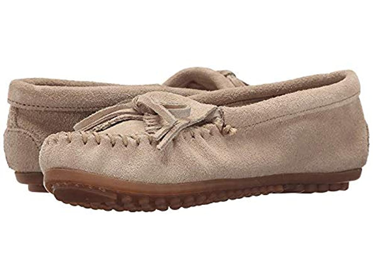 磁石優勢汚染レディースローファー?靴 Kilty Moc Stone Suede (23cm) M [並行輸入品]
