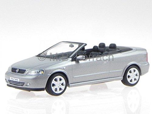 Opel Astra G Cabrio silber Modellauto Minichamps 1:43
