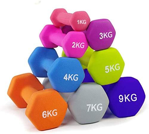 Woodtree - Mancuernas para ejercicios y fitness (1 pieza), 7 kg, 7kg