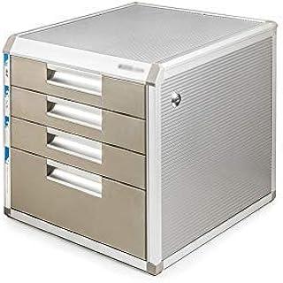KANJJ-YU 5 couches bureau stockage Expander, en alliage d'aluminium de bureau Tiroir Sorter Armoire de rangement Boîte de ...