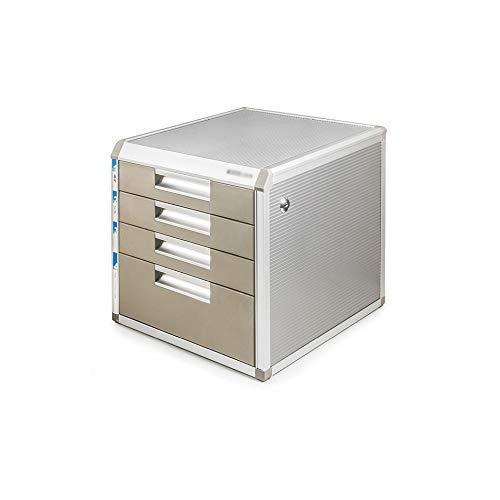 HYY-YY 5 capas de almacenamiento de escritorio Expander, aleación de aluminio del escritorio del cajón clasificador de Gabinete de almacenamiento de archivos Box Office Supplies portátil y ordenado Pe