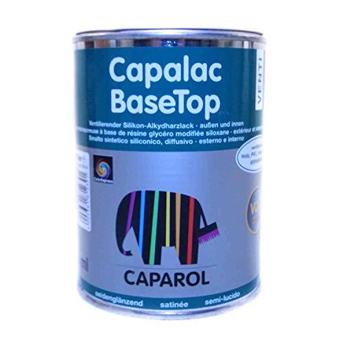 Capalac BaseTop weiss seidenglänzend 0,375l