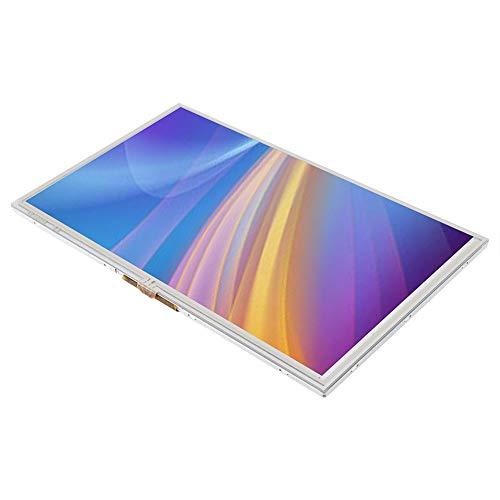 Tosuny 9-Zoll-Touchscreen für Raspberry Pi, 9-Zoll-HDMI-Monitor HD 1024 x 600 für Mobile DVDs, Digitale Bilderrahmen, Automobilsysteme und Multimedia-Anwendungen