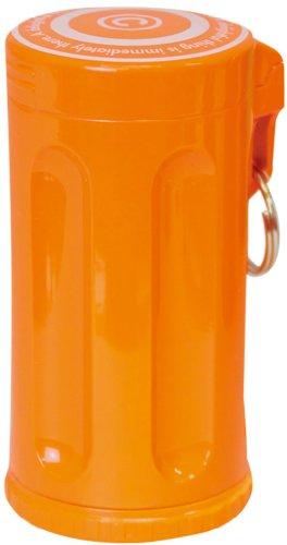 Dreams(ドリームズ) 携帯灰皿 シガーネスト ハニカム 7本収納 オレンジ MDL45058 直径3.5×高さ7.0cm