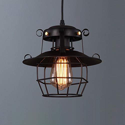 Binnen Amerikaanse landelijke retro industrie wind smeedijzeren loft birdcage vorm kroonluchter grootte 23 cm * 23 cm kroonluchter lamp verlichting lamp café bar veranda restaurant slaapkamer studie wo