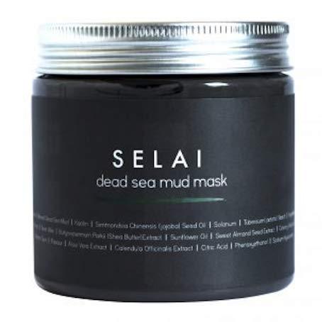 Mudmaske fra Dødehavet - 100% naturlig - Renser porene - peeling - foryngende - for kropp og ansikt - 250 g
