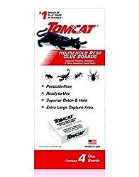 commercial Tomcat plague sticky trap, 4 pieces tomcat glue traps