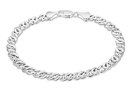 Tuscany Silver 8.26.2732 - Pulsera de plata de ley (925/1000)