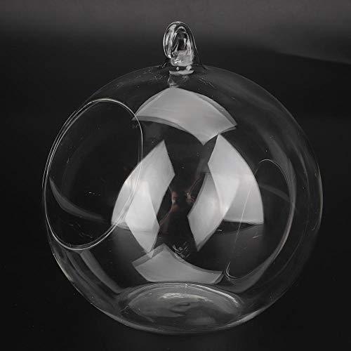 Criceto Casa di Raffreddamento Vetro di plastica Trasparente Estate Raffreddamento Mini Criceto Igloo Animale Domestico Piccola casetta per Zucchero Aliante Cavie Cincillà Ratto(L Trasparente)