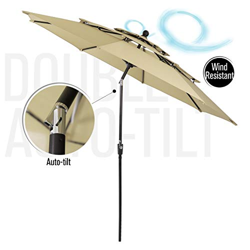 Best Wind Resistant Patio Umbrella