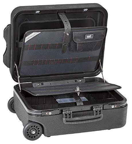 GT-Line Werkzeugkoffer Mega Wheels 190 PEL TSA (Werkzeug-Trolley mit Teleskopgriff, ohne Werkzeug, inkl. 2 Schlösser, Dokumentenfach, Werkzeugtafeln mit Gummiband) 488151
