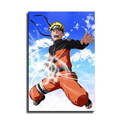 Naruto Shippuden Naruto rasengan Canvas Art Poster and Wall Art Picture Print Modern Family Bedroom Decor Posters