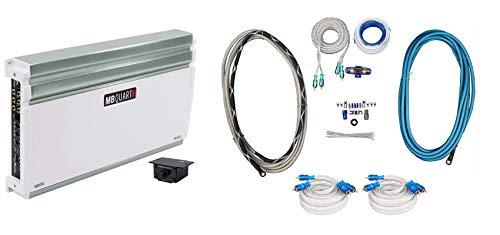 MB QUART NA710.5 710 Watt RMS 5-Channel Nautic Marine Boat Amplifier+Amp Kit