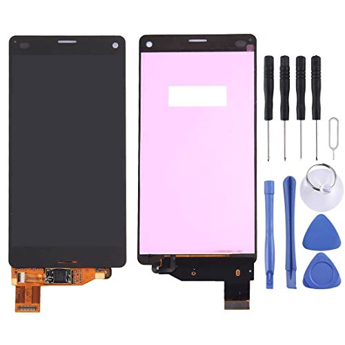 WWHSS -LCD Display + Touch Panel for Sony Xperia Z3 Compact / M55W / Z3 Mini(Black) DIY (Color : Black)