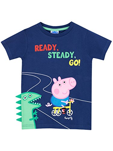 Peppa Pig Boys George Pig T-Shirt Ages 4 to 5 Years
