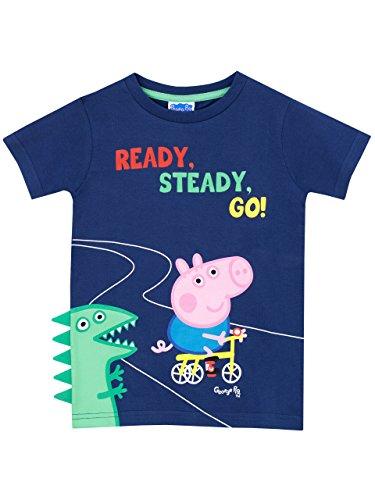 Peppa Pig - Camiseta para niño George Pig - 2 a 3 Años