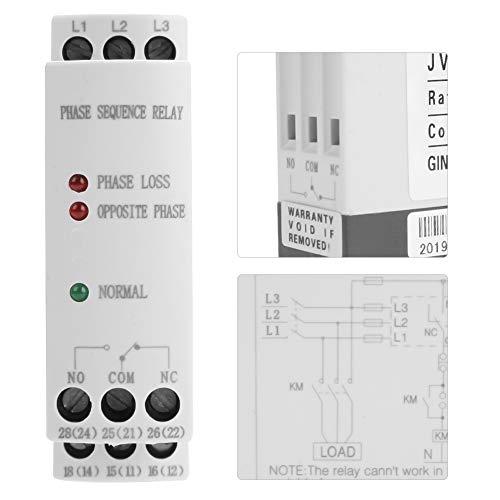 Relé de monitoreo de fallas, compacto, sin secuencia de energía adicional, relé de protección estable para compresores de aire industriales