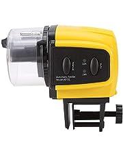 Automatyczny podajnik ryb, cyfrowy elektryczny automatyczny podajnik ryb plastikowy timer dom akwarium zbiornik karmienie jedzenie gorące 1 szt