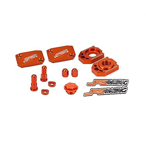 BGGSN Conjunto de la Cubierta del depósito de Fluido del líquido del Embrague del Freno CNC de la Motocicleta para SX SXF XC XCF XCW XCFW EXCCX 125 150 250 300 350 400 450 530