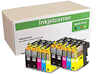 Inkjetcorner Compatible Ink Cartridges Replacement for LC103 LC103XL (4 Black, 2 Cyan, 2 Magenta, 2 Yellow, 10-Pack)