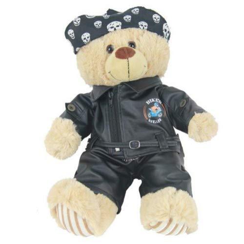 Disfraz de oso de peluche para motero, 40 cm, oso no incluido