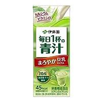 伊藤園 豆乳でまろやか 毎日1杯の青汁 紙パック 200ml 【48本セット】