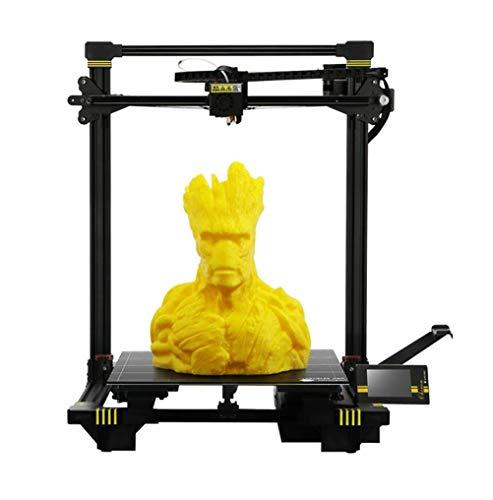 ZIHENGUO Imprimante 3D Chiron, Format d'impression Grand Format 400x400x450mm, avec Plaque chauffante UltraBase et Extrusion Titan, Fonctionne avec Tup à Filament, PLA, Han