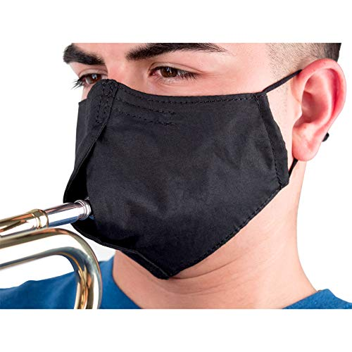 ProTec Wind Instrument Face Mask for Woodwind and Brass Instrument, Model A341, Size Medium