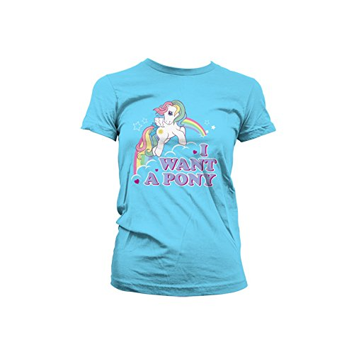 Officieel gelicentieerd product MLP - I Want A Pony dames thee